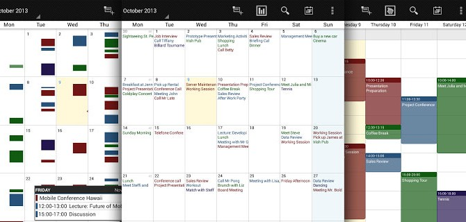 Business Calendar: Optimized for Google Calendar
