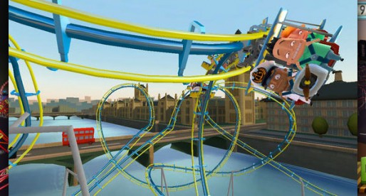 Coaster Crazy Deluxe: How about a ride on a roller coaster?