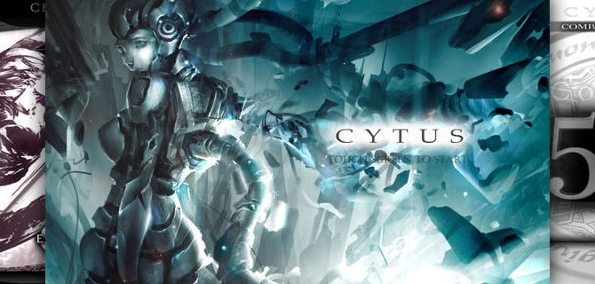 Cytus: Musical game of skill with stunning fantasy optics