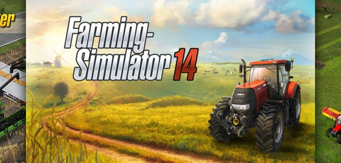 Farming-Simulator 2014: Take a seat on the tractor