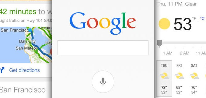 Google Search: Google Now has been optimized