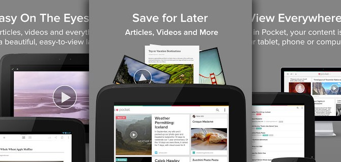 Pocket: Read it Later – when it is convenient