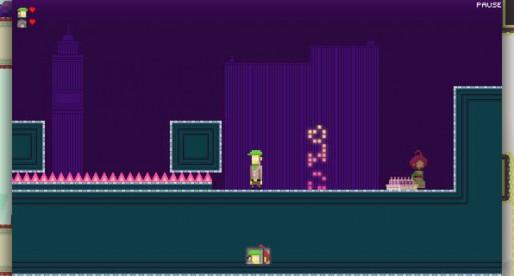 Super Lemonade Factory Part Two: Carry Liselot through a pixel world