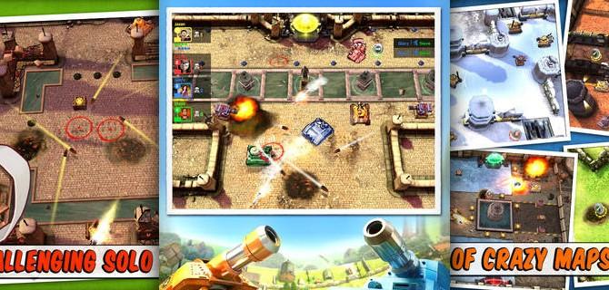 Tank Battles – Explosive Fun!