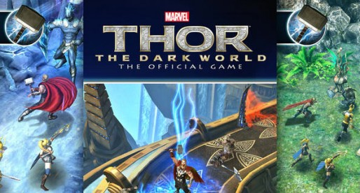 Thor: The Dark Kingdom – The Official Game: Be a God – swing a hammer!