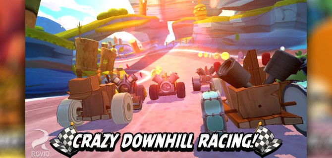 Angry Birds Go!: Birds and pigs on the racetrack