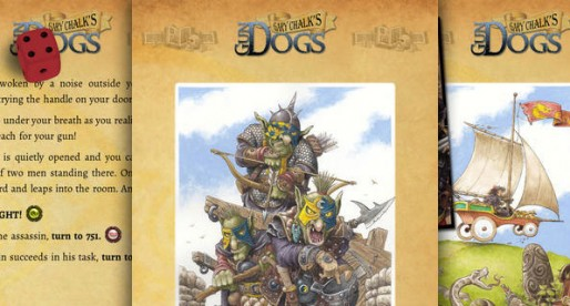 Gary Chalk's Gun Dogs: Classic Fantasy Pen-and-Paper on the iDevice