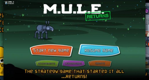 MULE Returns: Manage the recourses of a foreign planet