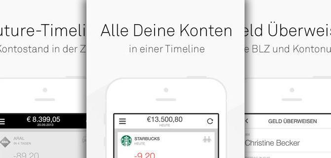 Numbrs – Online Banking App der Zukunft