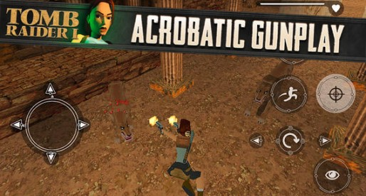 Tomb Raider 1: The cult game reaches the App Store