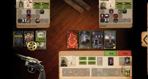 Reiner Knizia's Razzia – The Mafia Board Game: Get your share of illegal earnings