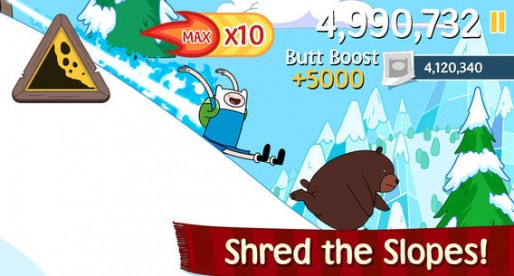 Ski Safari: Adventure Time – Fast-paced Endless Runner & funny animals
