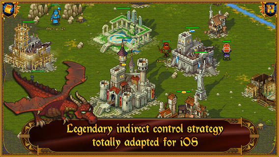 Majesty: The Fantasy Kingdom Sim – A Strategy Game in which you negotiate with your troops