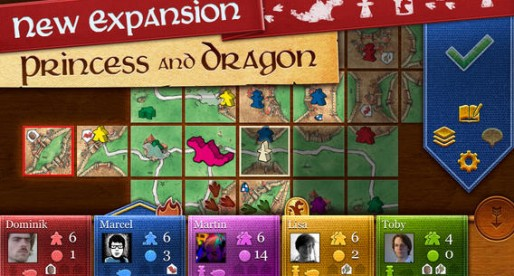 Carcassonne delivers a new add-on