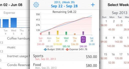 wBudget: All expenses at an elegant glance