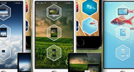 Device Wallpapers: Wallpaper in iOS 7 style