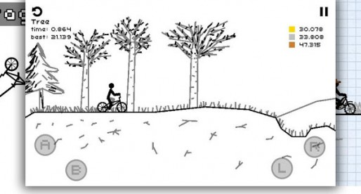 Draw Rider+: Challenging bike ride with level editor