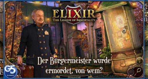 Elixir: The League of Immortality – Classic Point & Click