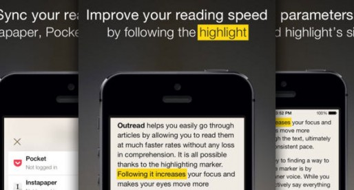 Outread-Speed Reader: Speed up your reading