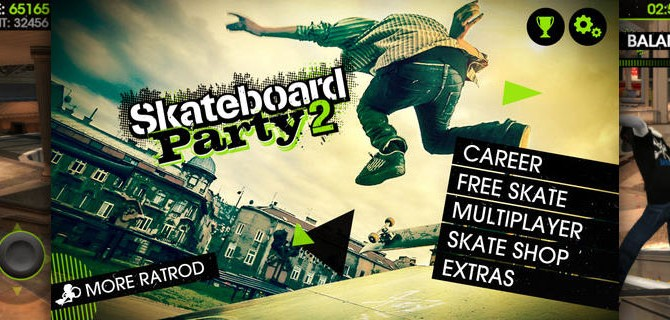 Skateboard Party 2: Fast tricks on cool boards