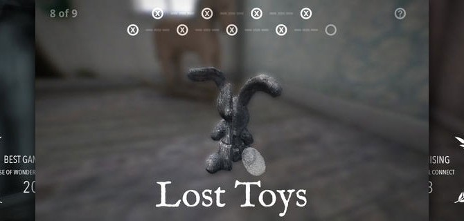 Lost Toys: Relaxing, yet challenging Puzzler