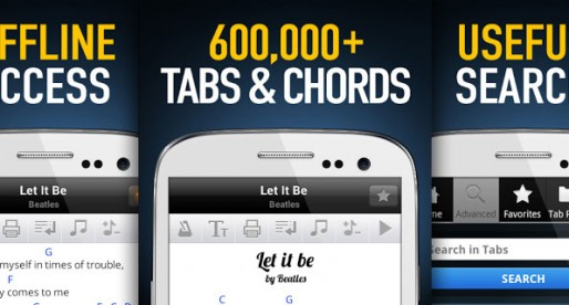 Ultimate Guitar Tabs & Chords: A must have tabs and chords catalog