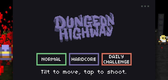 Dungeon Highway: Arcade running fun for in between