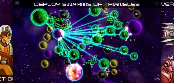 Galcon Legends: Strategische Flottenmanöver im Weltraum