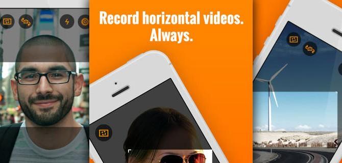 Horizon – Shoot & share horizontal videos: Konzentriert Euch aufs Motiv, nicht aufs Handling des Aufnahmegeräts