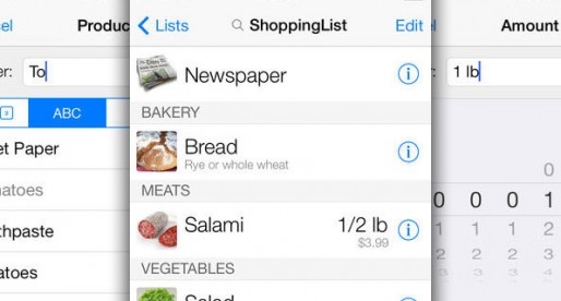 ShoppingList for iPhone & iPad