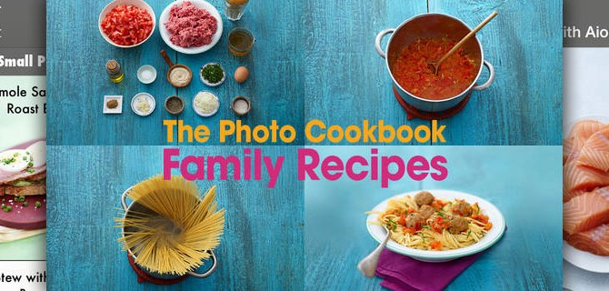 The Photo Cookbook – Family Recipes