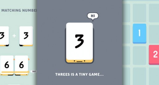 Threes: New Logic Puzzle that is all about number combinations