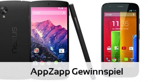 (Deutsch) Nexus 5 & Moto G zu gewinnen
