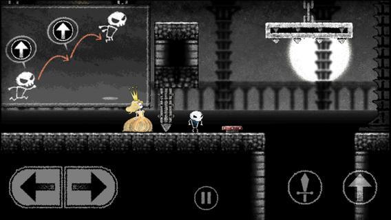 Dokuro: A skeleton, a princess and a gloomy action tale