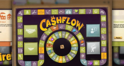 Cashflow – The Investing Game that is reminiscent of Monopoly