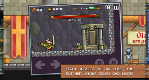 Devious Dungeon: Fight monsters and bosses in this enjoyable Medieval Action Platformer