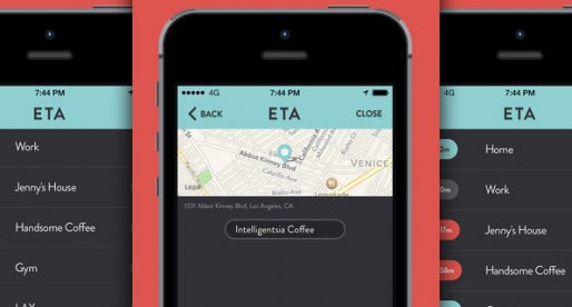 ETA: A new app that supplies the real-time duration of a trip