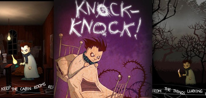 Knock-Knock: Try to make it out of the dark in this creepy Survival Horror Game