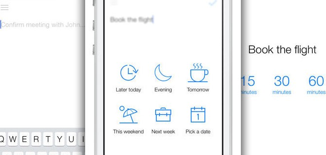 Later – Better Reminders: Minimalist reminders in iOS 7 style