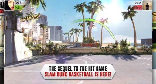 Slam Dunk Basketball 2: Play against online opponents