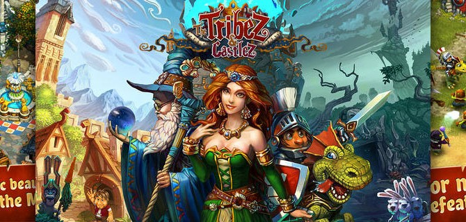 The Tribez & Castlez: Create and protect a magical kingdom