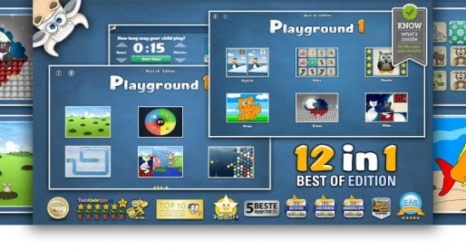 Toddlers Playground Games 1: 12 Children's Games – great for the little ones (and their parents)