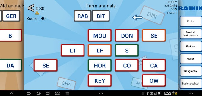 Word Domino – Letter games for kids: And adults will enjoy it too