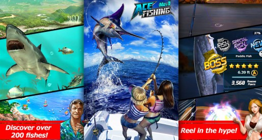 Ace Fishing – Wild Catch: Adventure on the water