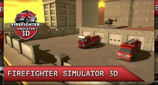 Firefighter Simulator 3D: How about becoming a fireman?