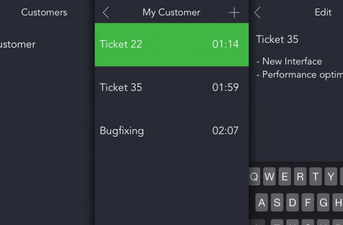 Hours – Simple Time Tracking: A quick and stylish way to keep track of your working hours