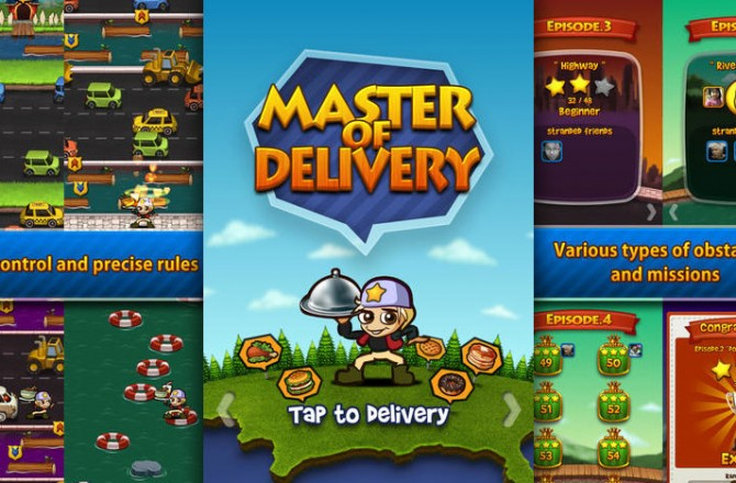 Master Of Delivery: Do you have what it takes to be the fastest delivery guy ever?