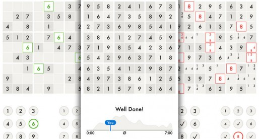 Minimal Sudoku: A stylish looking cult game