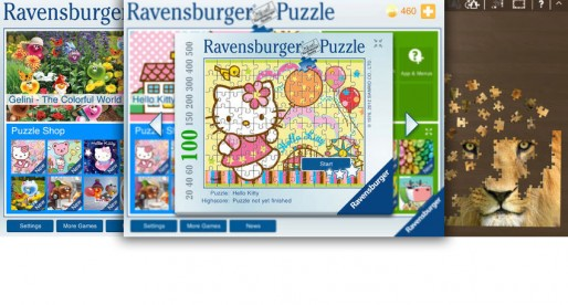 Ravensburger Puzzle: Great, intuitively playable puzzle motives – that can get quite expensive