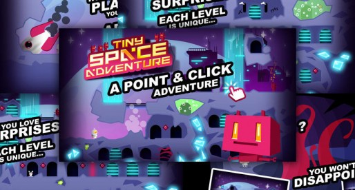 Tiny Space Adventure – Point & Click: Find the right path on a foreign planet